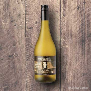 "Fles 19 Crimes ""Behind Bars"" Chardonnay"