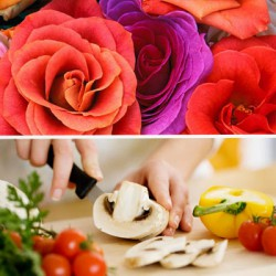 Combi-workshop 'Koken & Bloemen'